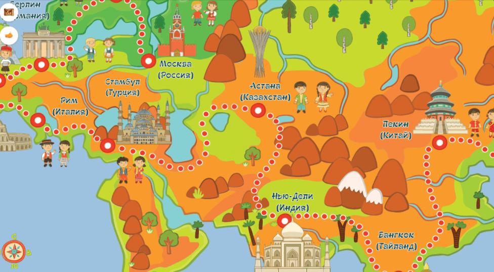 Карта на света - Cleverstart